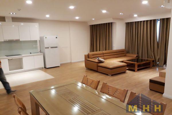 Căn hộ 3 phòng ngủ tòa A Mipec Riverside 5