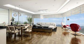 Giá bán chung cư Mipec Riverside 2 phòng ngủ